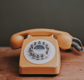Old telephone allowing for honest communication. Credit Annie Spratt