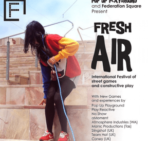 Fresh Air Festival, by Pop Up Playground