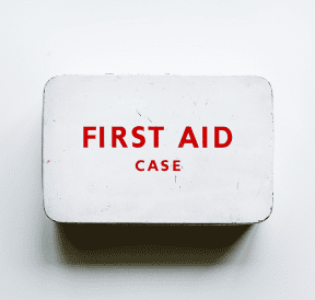 First aid kit as safe as necessary. Credit rawpixel