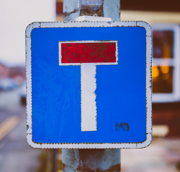 Road sign reflecting team puzzle metaphors. Credit Jonathan Farber