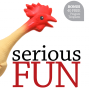 Serious Fun book out now