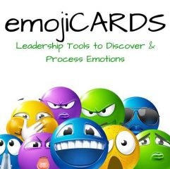 Front cover of EmojiCards box