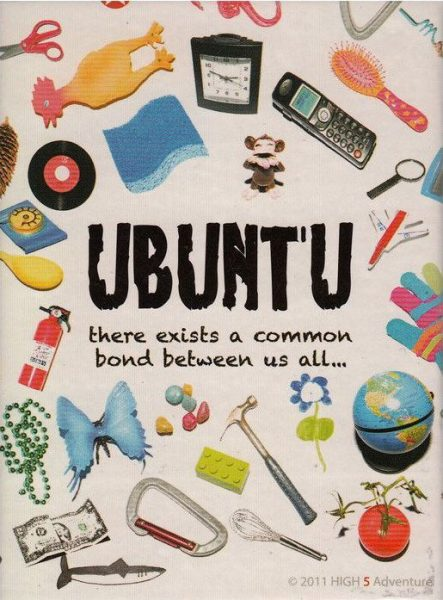 Front cover of Ubuntu Cards box
