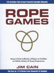 Front cover of Rope Games book by Jim Cain