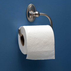 How to hang your toilet paper