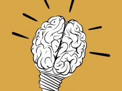 Brain breaks image showing brain being recharged