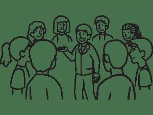 Training workshop lead by playmeo facilitator