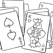 Series of playing cards as used with Card Talk