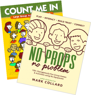 No Props No Problem & Count Me In bundle front covers