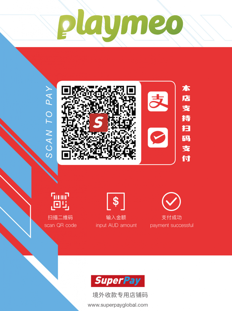 WeChat Pay & Alipay - playmeo now accepts payments from China
