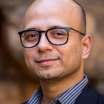 Headshot of Aman Zaidi, group facilitator