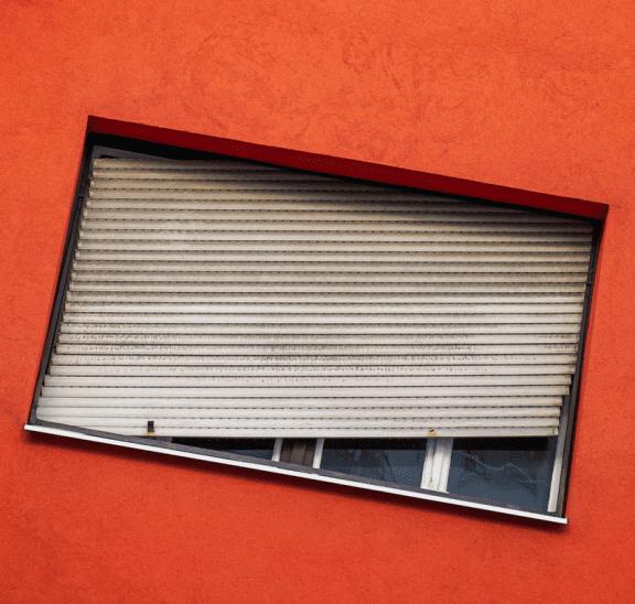 Unusual team building activities like slanted windows. Photo credit Balint Szabo