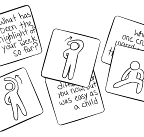 Illustration of We Connect Cards
