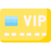 Illustration of VIP badge