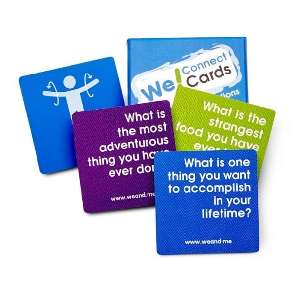 We Connect Cards included as part of Connection Toolkit