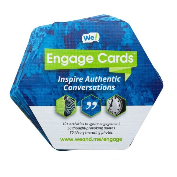 We Engage Cards included as part of Connection Toolkit