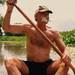 Karl Rohnke canoeing 2007