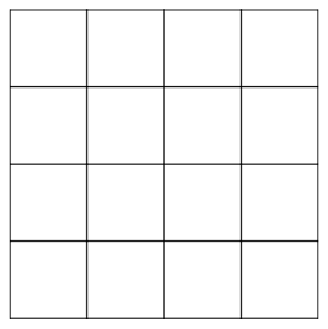 Diagram of many squares