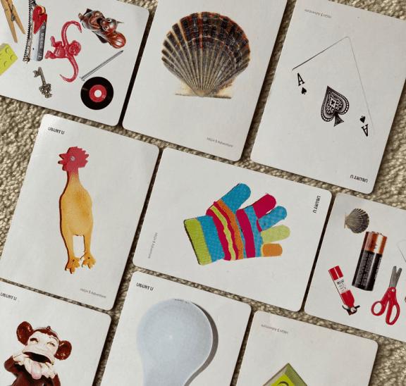 Mimeograph group initiative set of Ubuntu Cards