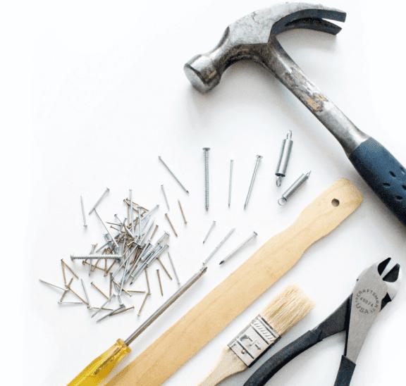 Set of essential tools. Credit Julie Molliver