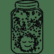 Illustration of dazzling Mindfulness Jar