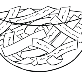Illustration of glass bowl full of Affirming Thoughts