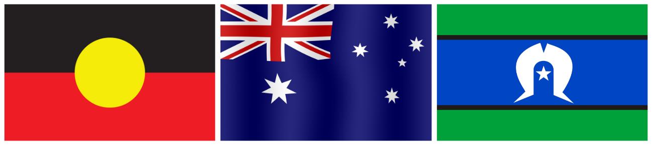 Australian Aboriginal & Torres Strait Island flags